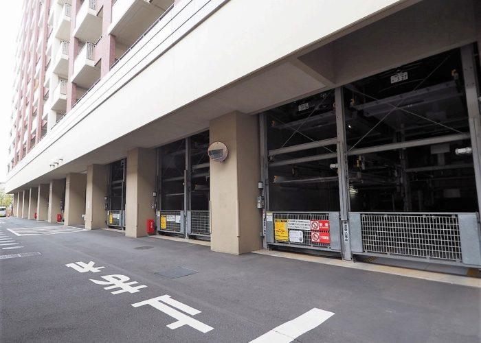 常盤台ガーデンソサエティ 駐車場