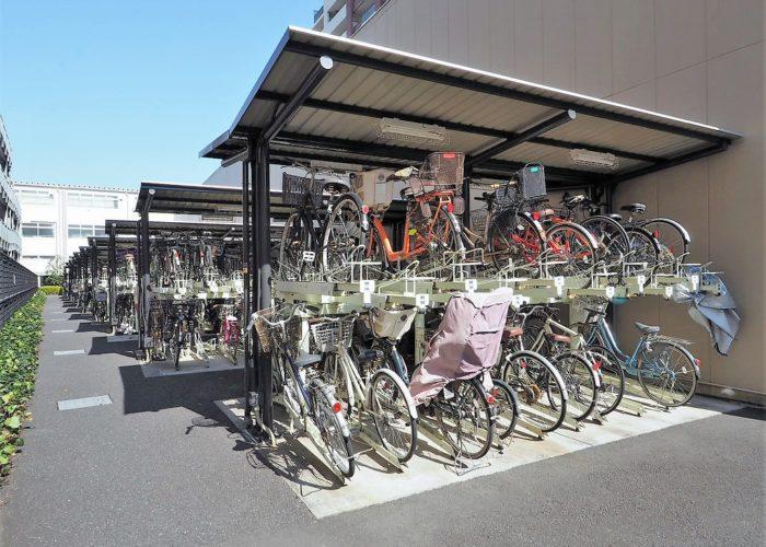 常盤台ガーデンソサエティ 駐輪場