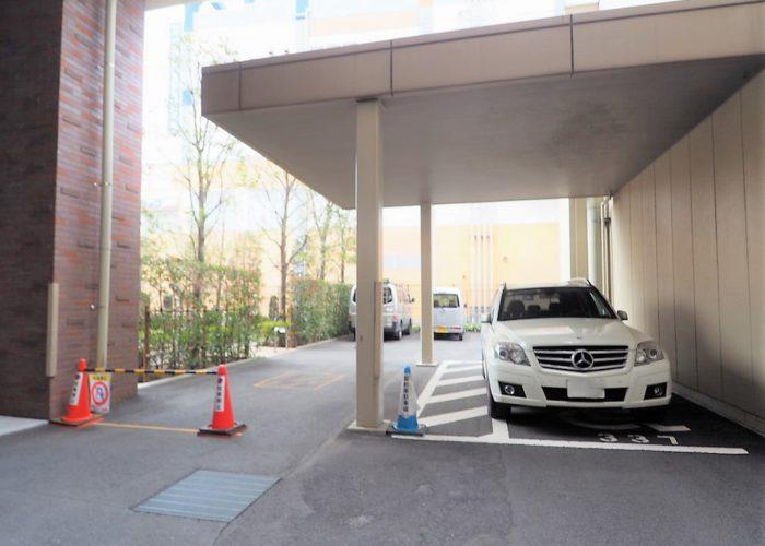 常盤台ガーデンソサエティ 来客駐車場