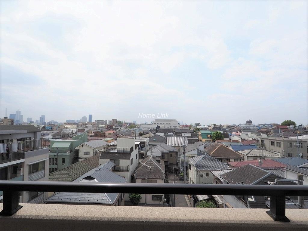 クリオ中板橋壱番館6階 6階南バルコニーからの眺望