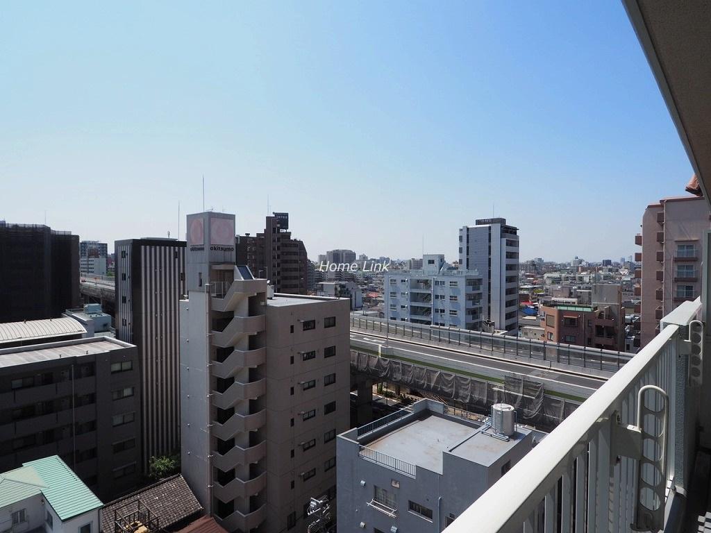 サンライン板橋本町10階 10階バルコニーからの眺望