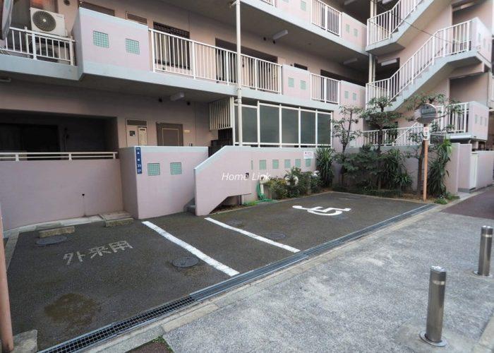 サンライン板橋本町 来客用駐車場