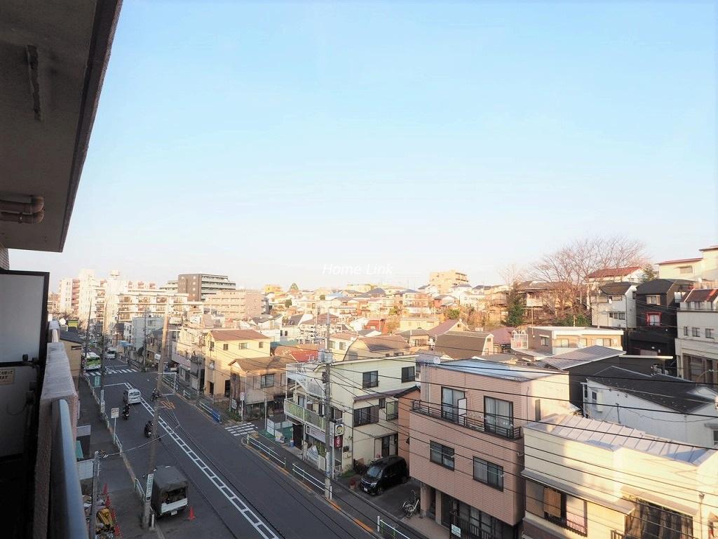 ナイスアーバン徳丸5階 バルコニーからの眺望