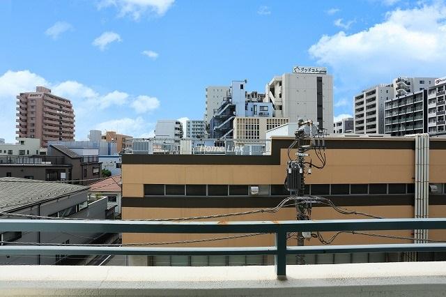 ニューハイム板橋4階 バルコニーからの眺望