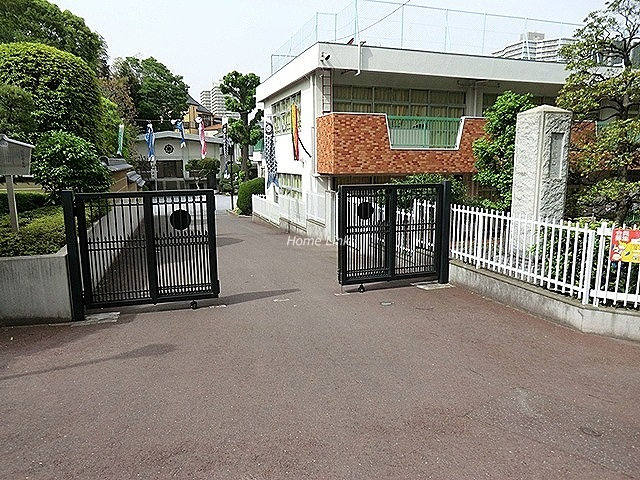 若木住宅2号棟周辺環境 中台幼稚園