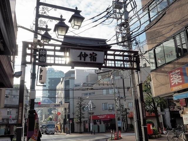 サンライン板橋本町周辺環境 仲宿商店街