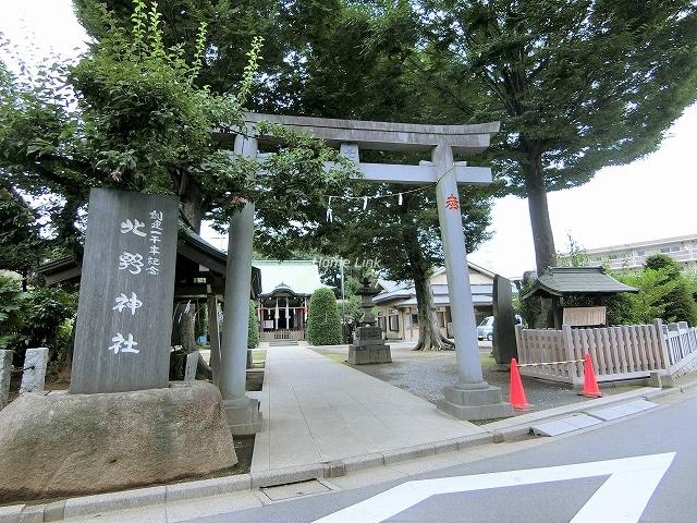 セザール第2赤塚公園周辺環境 徳丸北野神社