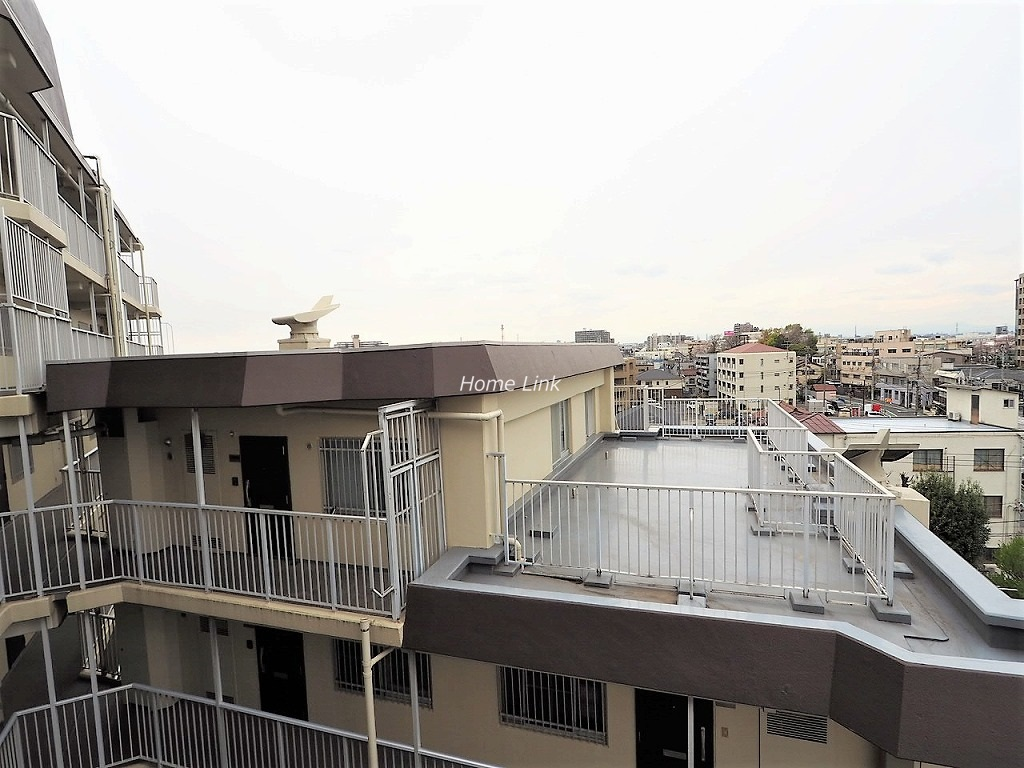 日商岩井上板橋マンション6階 ルーフバルコニー53.5㎡付