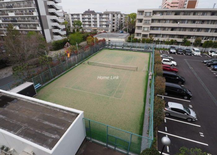 秀和蓮根レジデンス 共用部テニスコート