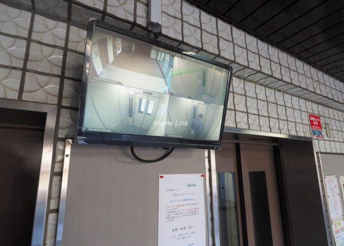 大山ローヤルコーポ 防犯カメラ