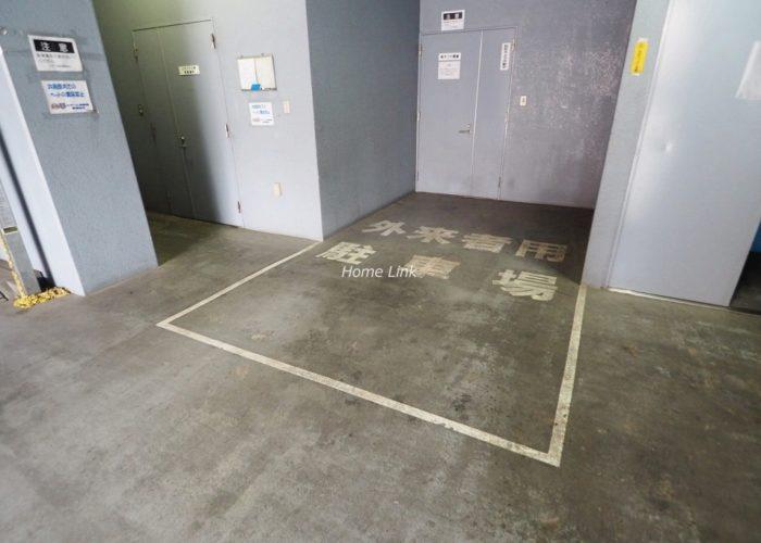 セザール池袋西 外来者用駐車場