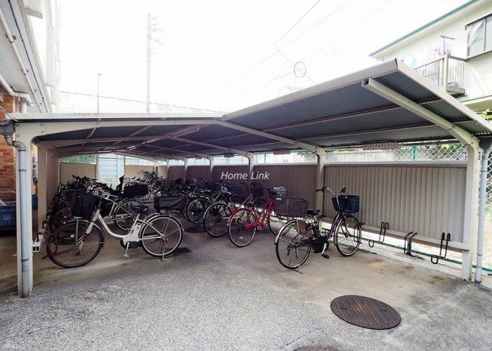 ニューハイム徳丸 駐輪場