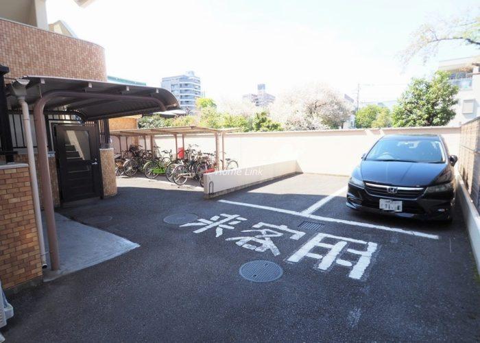ライオンズマンション本蓮沼 来客用駐車場