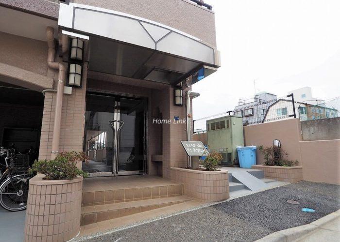 セザール第2赤塚公園 エントランス