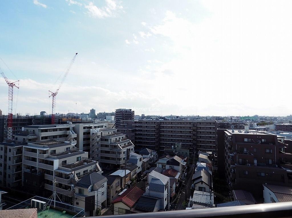 キャッスルマンション蓮根9階 バルコニーからの眺望