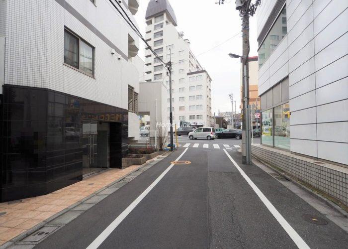 アルテシモ志村坂上 前面道路