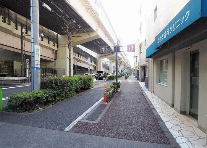 桂ハイツ 前面道路