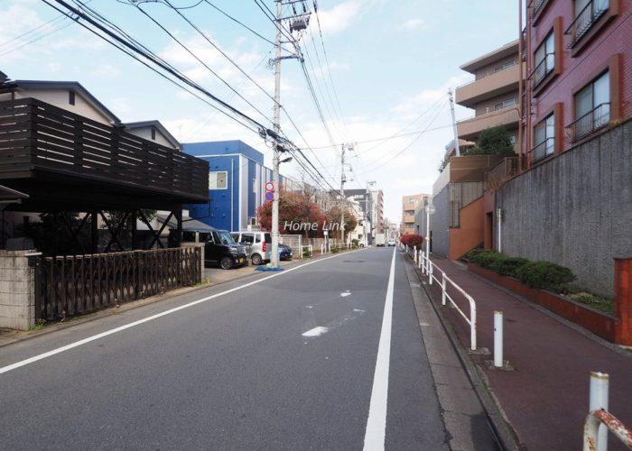 キャニオンマンション小竹向原 前面道路