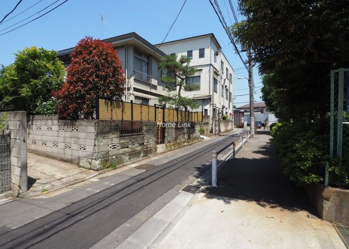 日商岩井上板橋マンション 前面道路