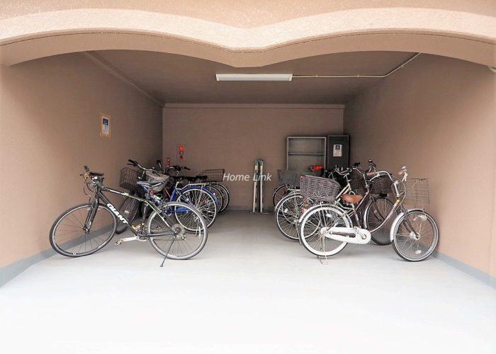 セザール第2赤塚公園 駐輪場