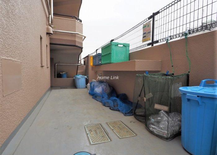 セザール第2赤塚公園 ゴミ置き場
