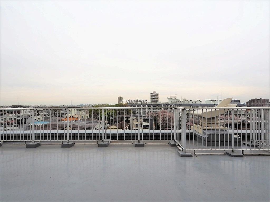 日商岩井上板橋マンション6階 ルーフバルコニーからの眺望