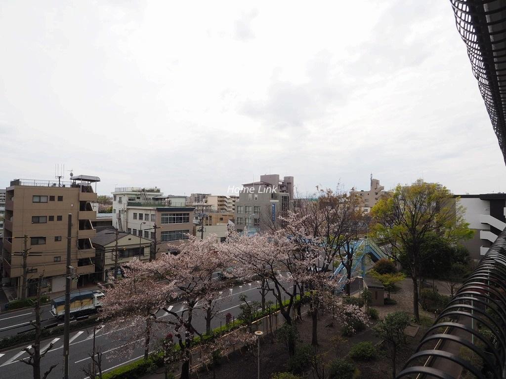 秀和蓮根レジデンス5階 バルコニーからの眺望