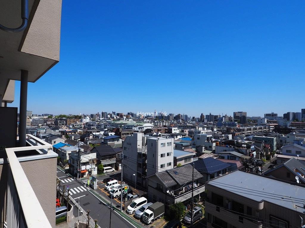 大山ローヤルコーポ7階 7階バルコニーからの眺望