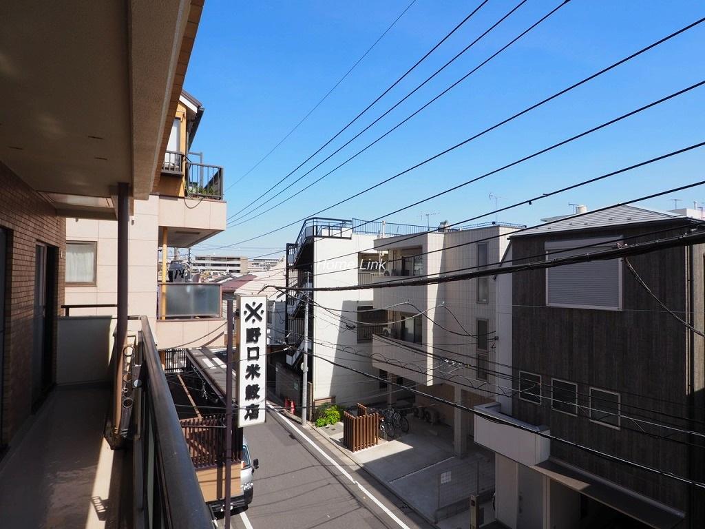 ライオンズマンション本蓮沼3階 バルコニーからの眺望