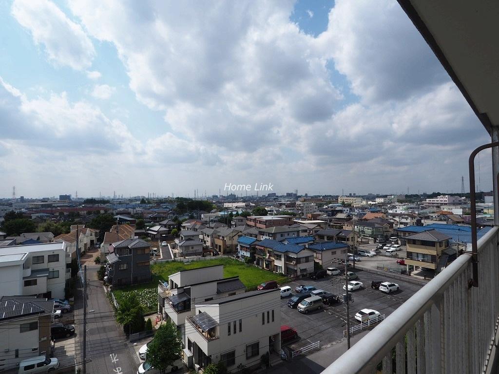 アイビハイツ川口7階 7階バルコニーからの眺望