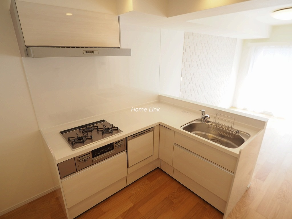 アーベントハイム板橋本町4階 L字型キッチン
