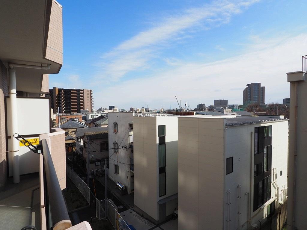アーベントハイム板橋本町4階 バルコニーからの眺望