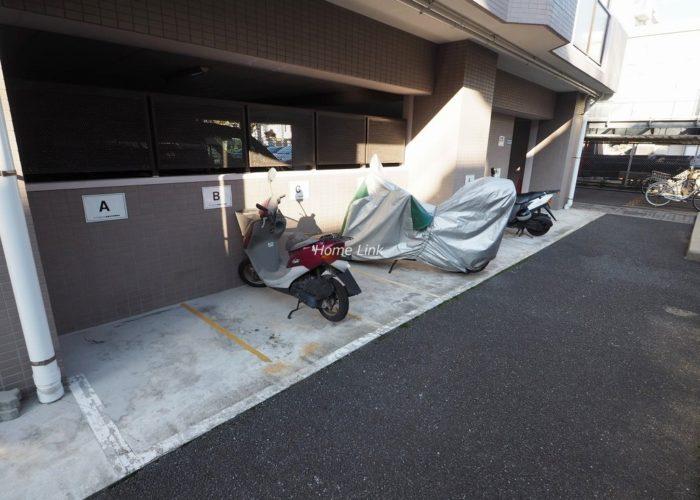 アーベントハイム板橋本町 バイク置場