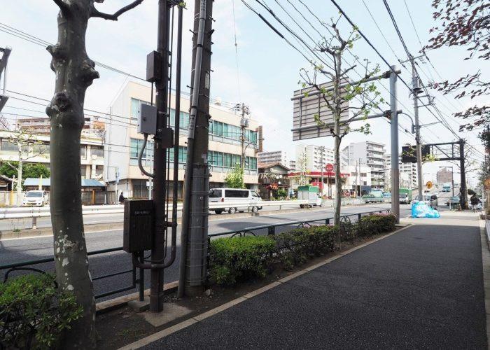 アーベントハイム板橋本町 前面道路