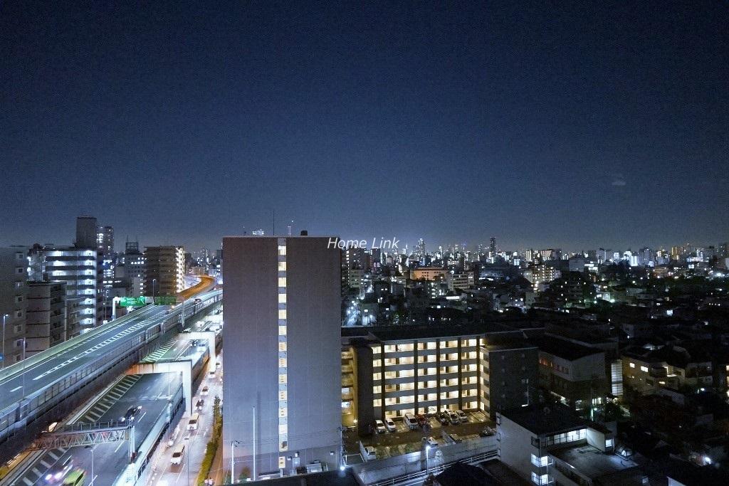 イニシア板橋区役所前14階 夜景