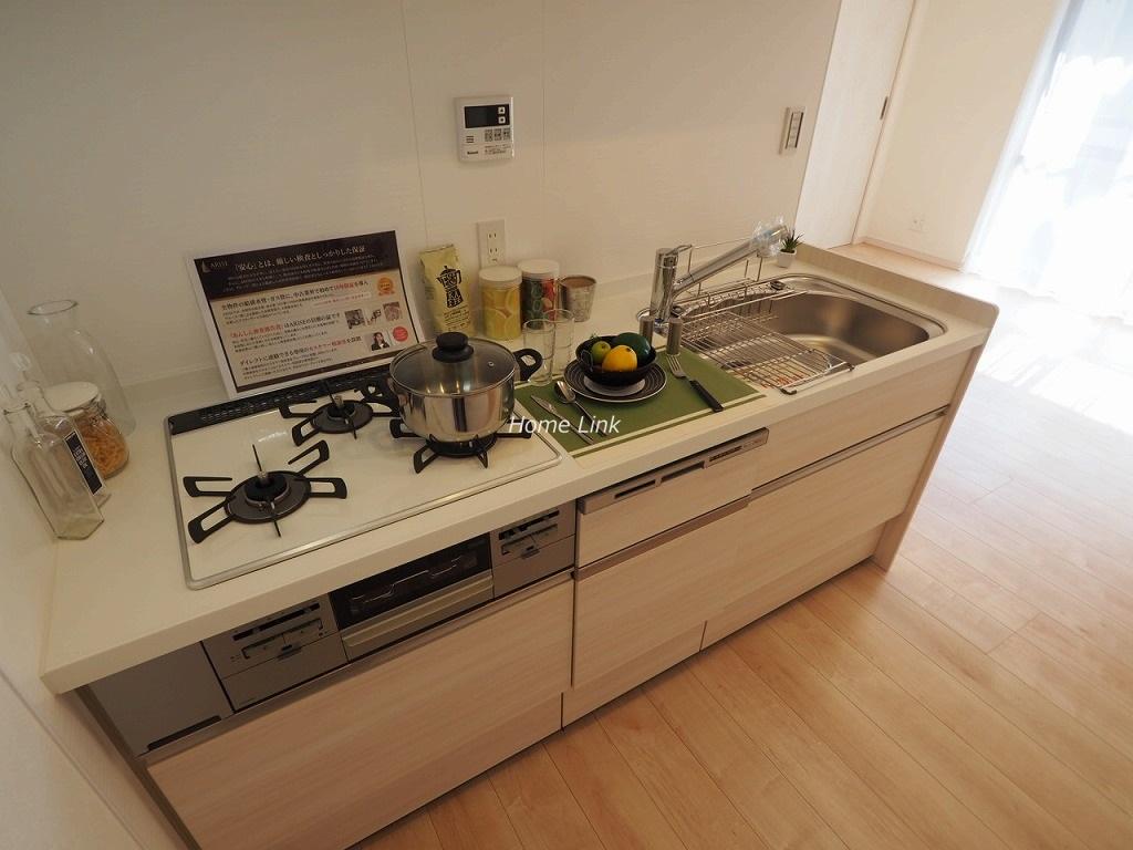 キャニオンマンション常盤台2階 システムキッチン食器洗浄機付き