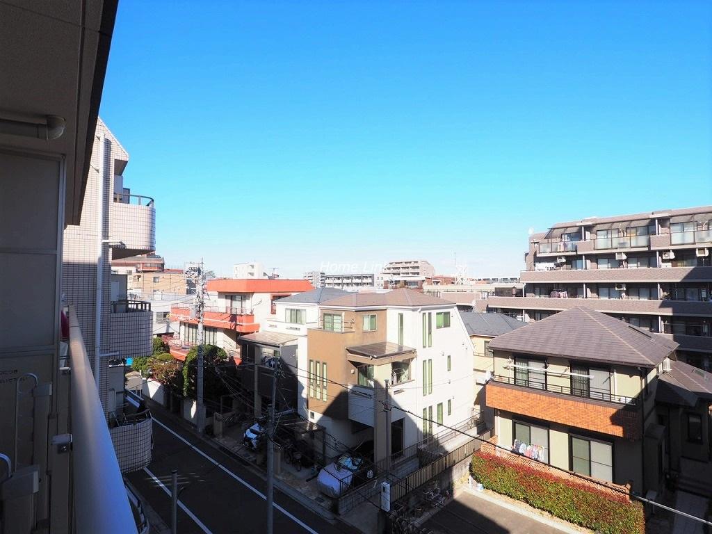 クラッシィアルテときわ台4階 バルコニーからの眺望
