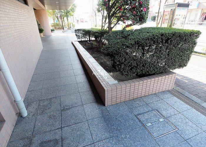 コアシティ西台 エントランス前植栽
