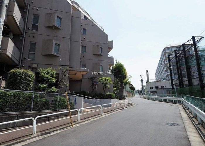 コスモ中台 前面道路