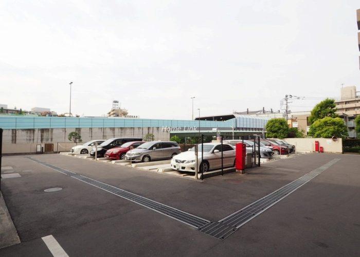 コスモ板橋志村プリオール 駐車場