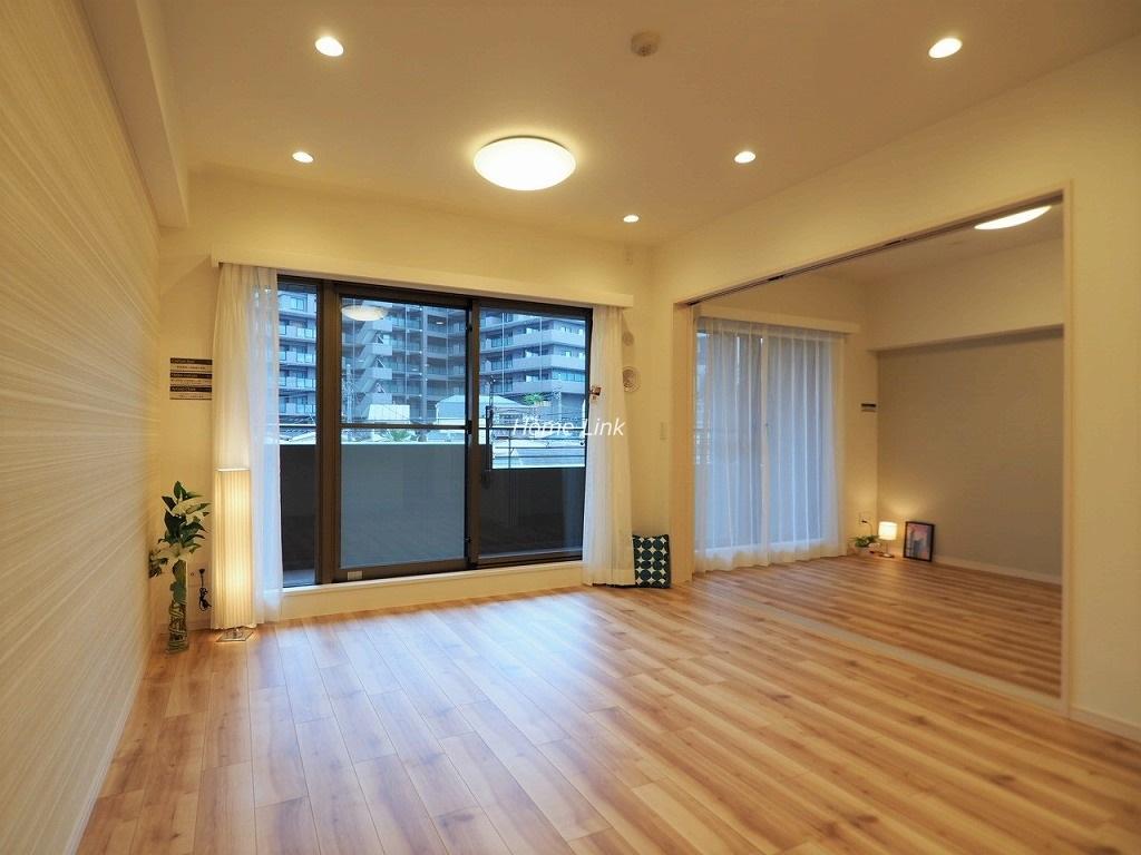 コスモ板橋志村プリオール4階 リビングから洋室