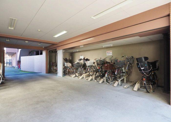 コスモ板橋本町シティフォルム 駐輪場