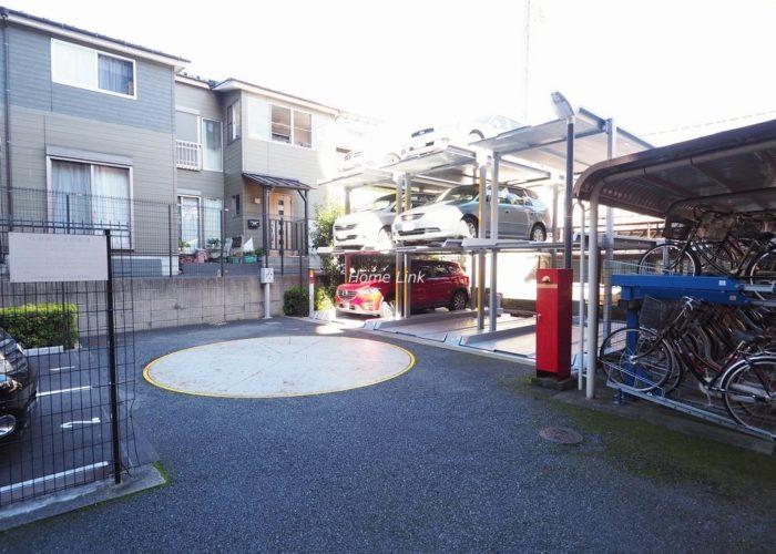 コスモ板橋本町シティフォルム 駐車場