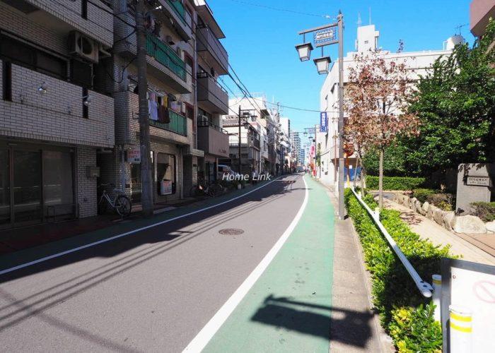 コスモ板橋本町シティフォルム 前面道路