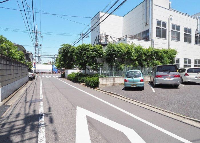 コープ野村志村三丁目 前面道路