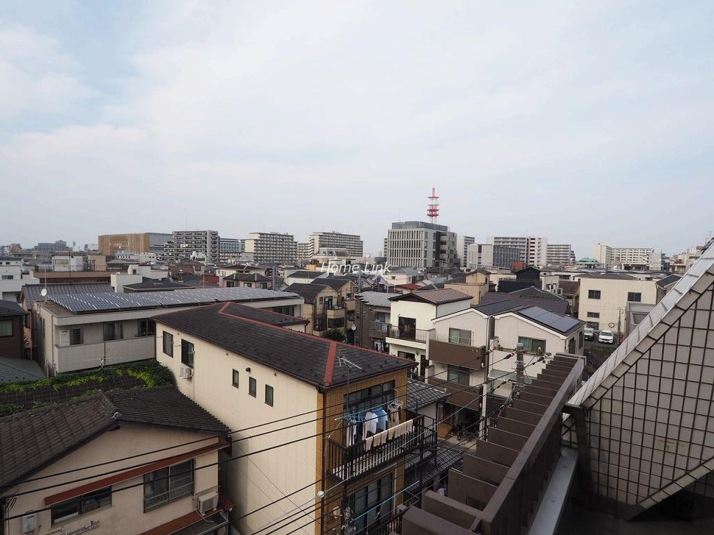 サンライズ板橋本町5階 周囲を一望できる開けた眺望
