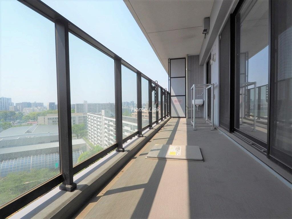シティテラス加賀12階 バルコニー