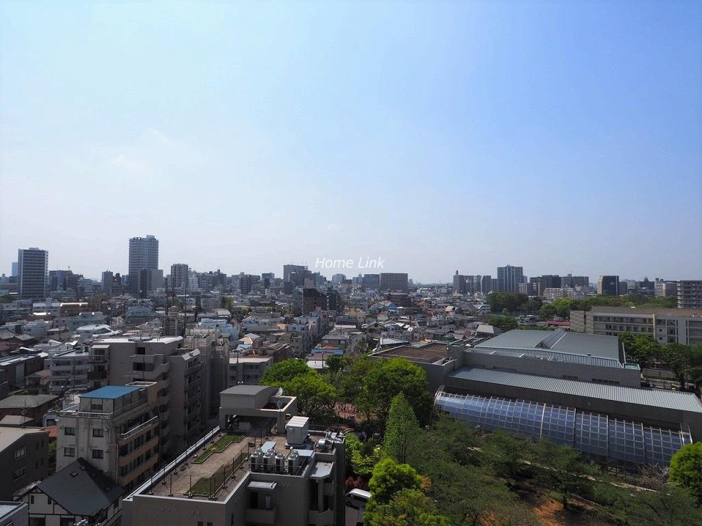 シティテラス加賀12階 12階バルコニーからの眺望