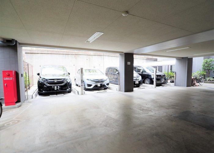 ジェイパーク板橋中台 駐車場