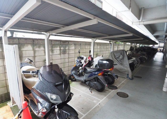 タカシマ志村マンション バイク置場